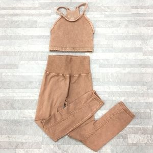 New Free People Movement Happiness 2pc Set XS/S
